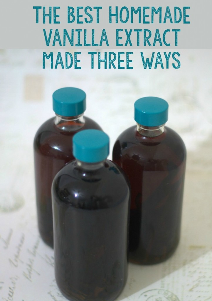 The best homemade vanilla extract made three ways