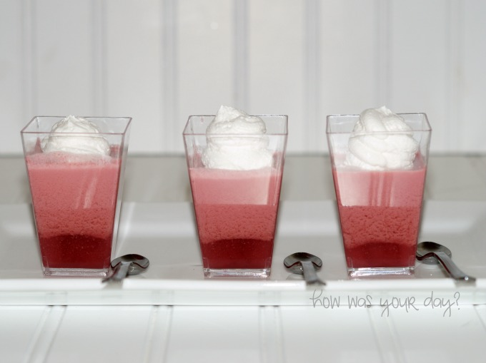 black cherry dessert minis