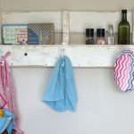 Make Your Own Reclaimed Wood Pallet Coat Rack and Shelf
