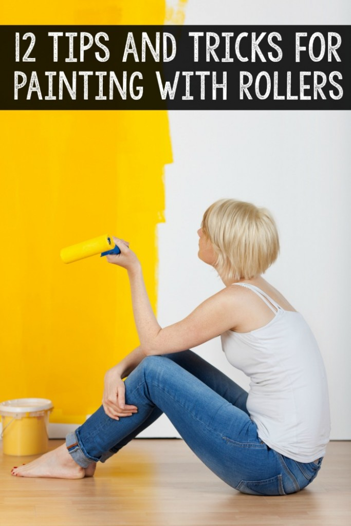 Get the best possible DIY paint job with these tips for painting your walls with rollers.