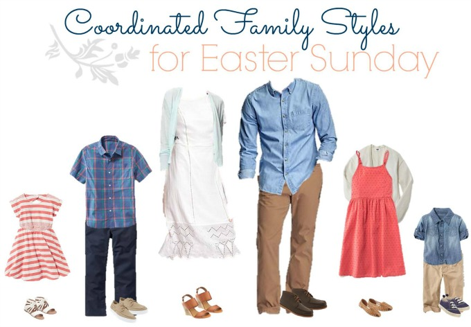 Old navy Easter Outfits for the Family