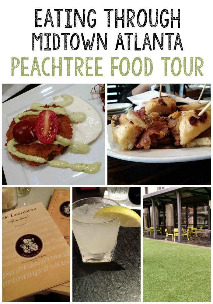 Join me on the Peachtree Food Tour as we eat our way through Midtown Atlanta