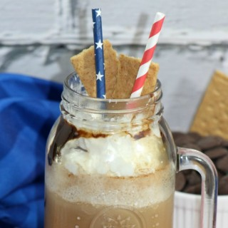 Smores Frappuccino Copycat Starbucks Recipe | Blended Coffee Drink