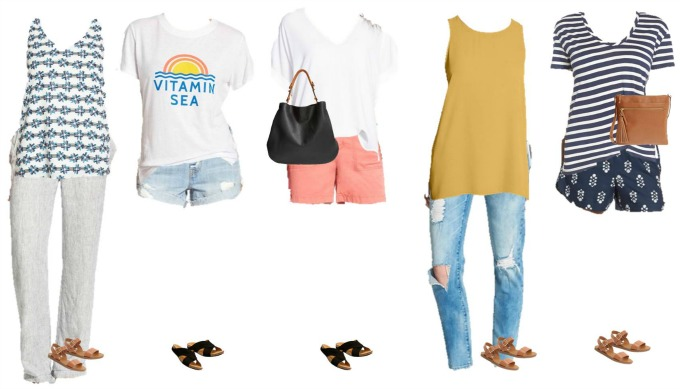 Nordstrom Summer Mix and Match Fashion Styles 11-15