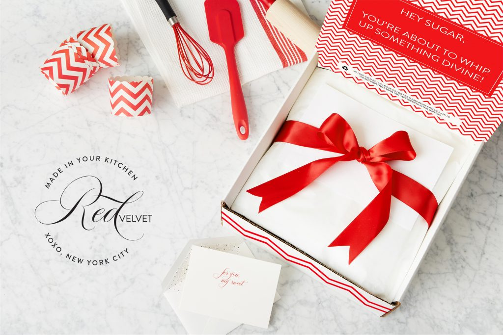 Red Velvet NYC gift box