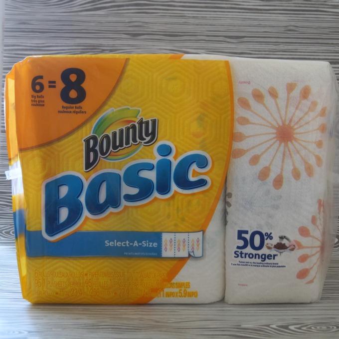bounty basics paper towels