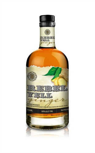 rebel yell ginger bourbon