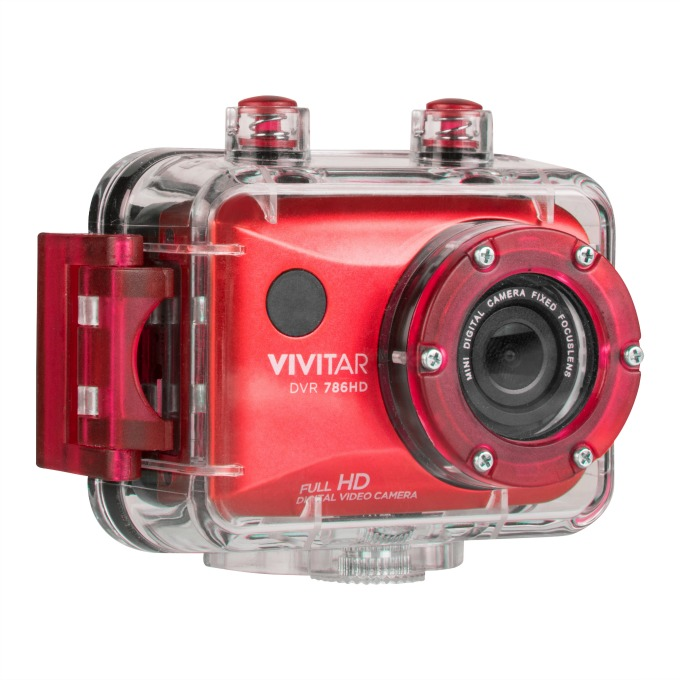 vivitar DVR 786HD-RED-7 camera