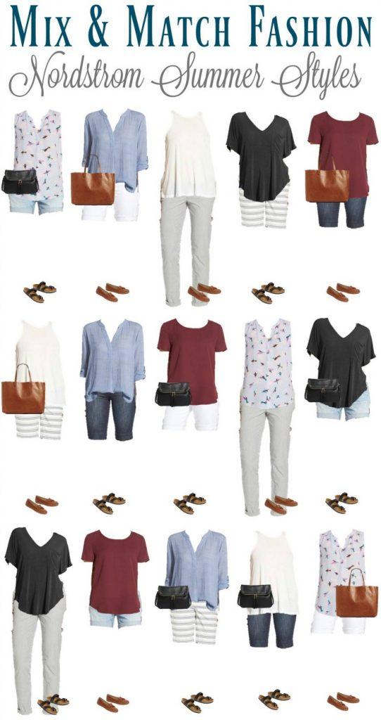 Nordstrom Summer Mix & Match Fashion