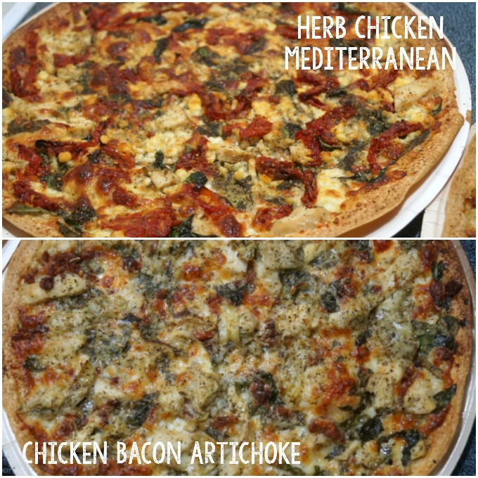 papa murphys pizzas cooked