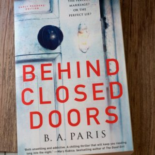 Get Thrilled with Behind Closed Doors | Book Review