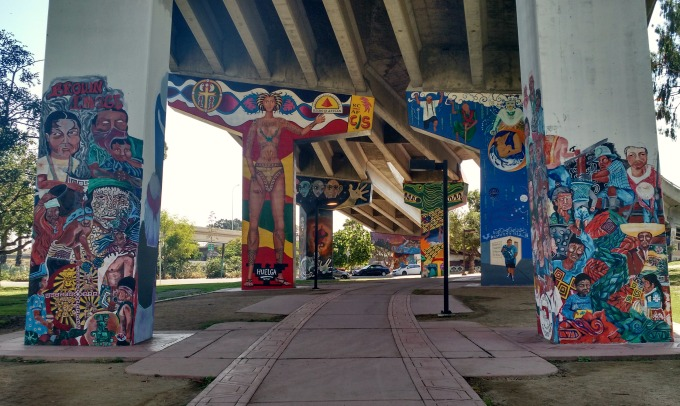 Murals at Chicano Park, San Diego