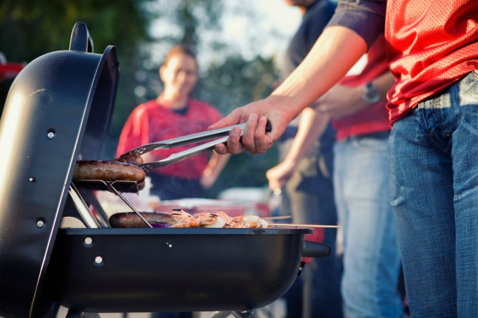 Grilling outside means you don't have to heat up your kitchen in the summer heat