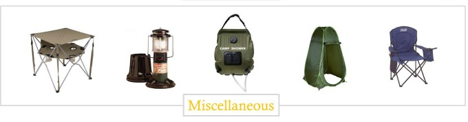 must have camping gear essentials
