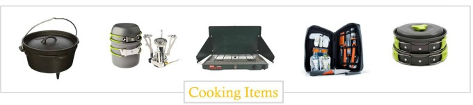must have cooking items camping gear