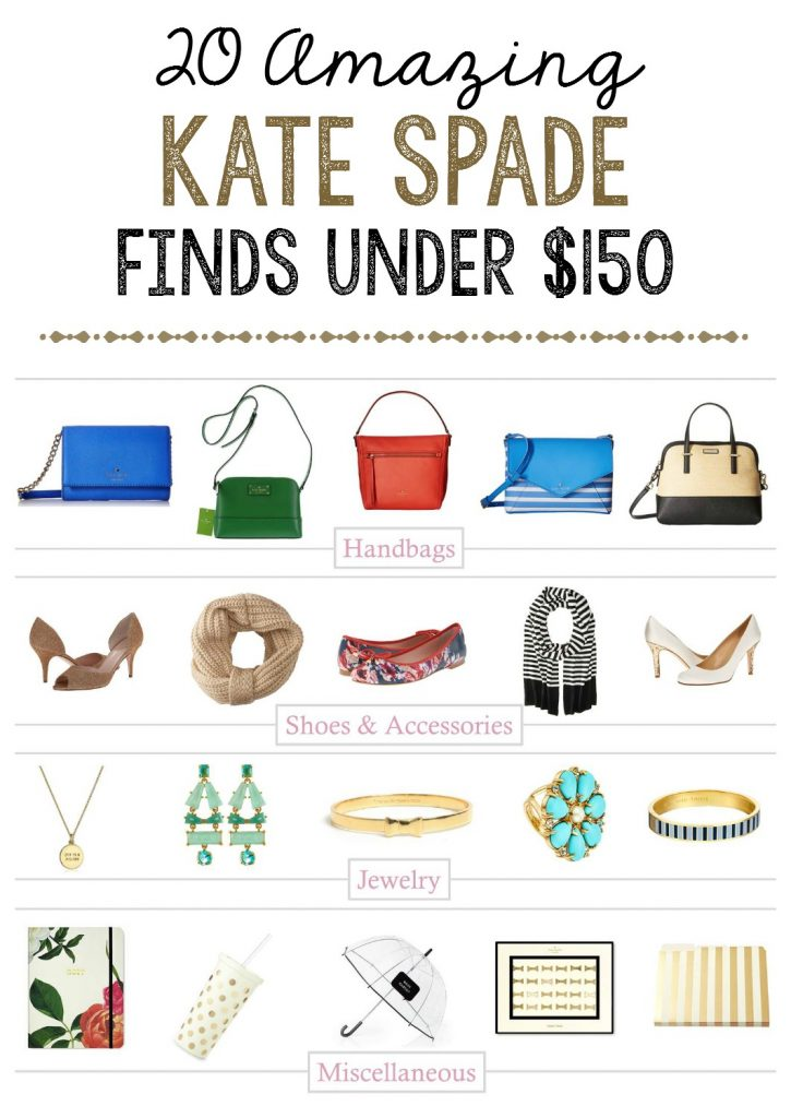 20 amazing Kate Spade New York find under $150