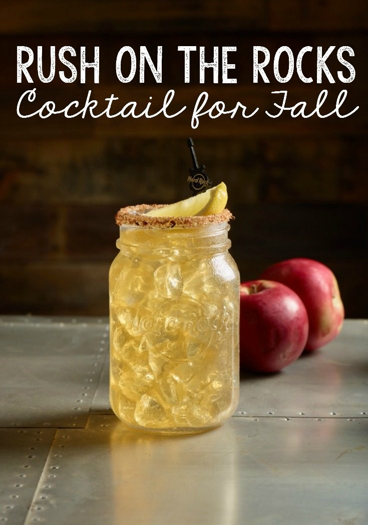 Looking for a great adult beverage for Fall?  The copycat Hard Rock Cafe Rush on the Rocks cocktail is perfect. Apple, whisky, and maple are great autumn flavors. An easy to make drink recipe too.