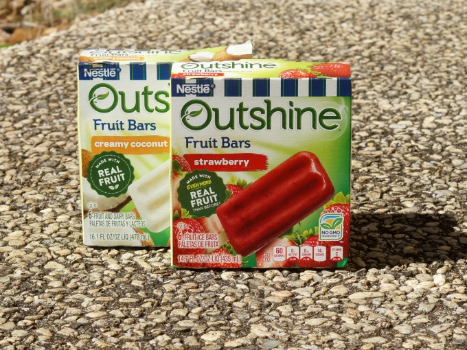 Outshine fruit bars package