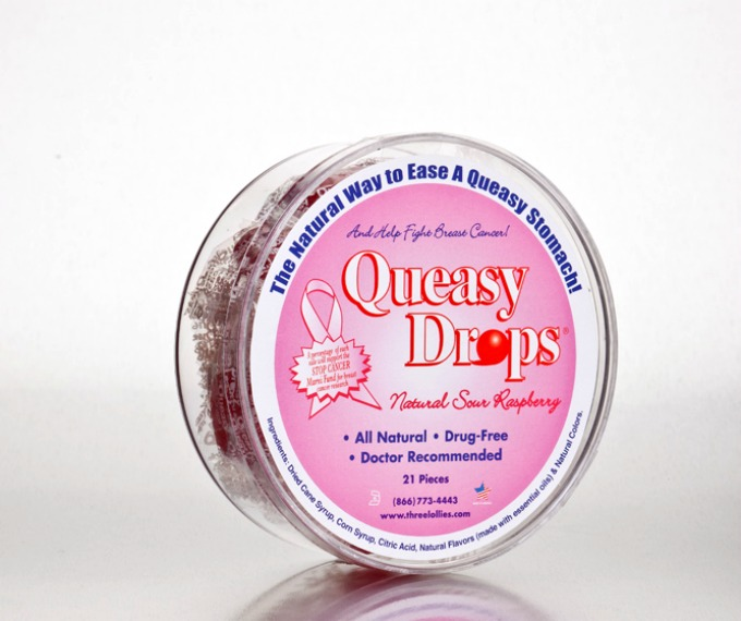 Queasy Drops for Breast Cancer