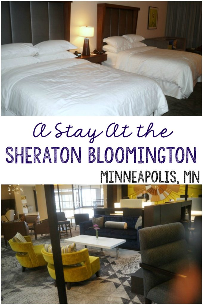 A stay at the Sheraton Bloomington in Minneapolis, MN