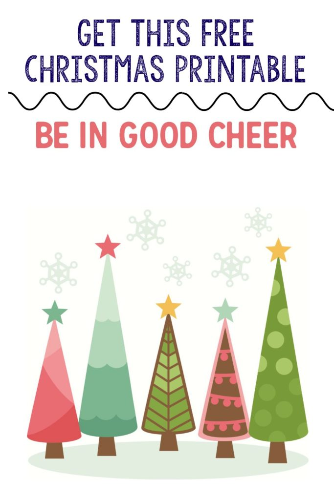 Get this Free Christmas rprintable download that's available in two sizes
