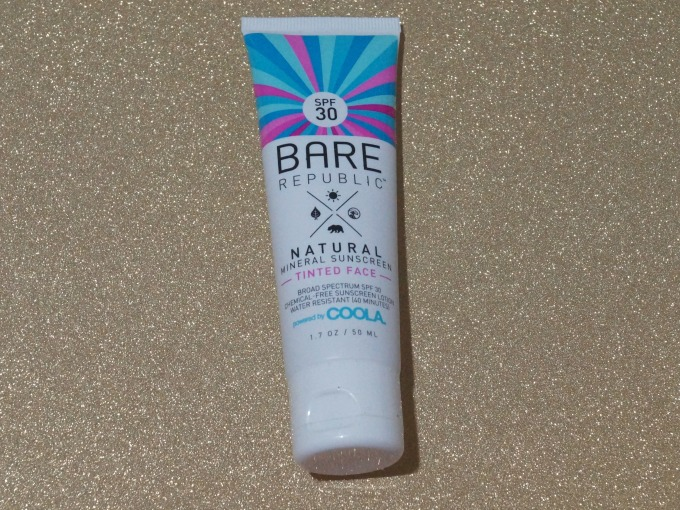 Bare Republic tinted sunscreen for your face