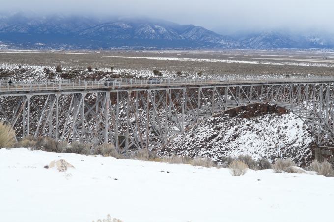 Rio Grande Gorge Bridge in Taos, NM