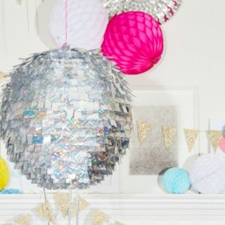 Quick and easy DIY disco ball
