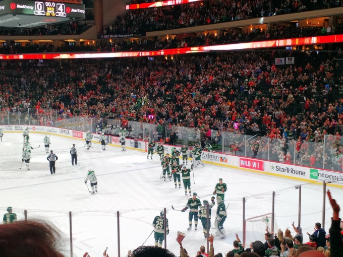 Minnesota Wild shut out the Dallas Stars 4-0