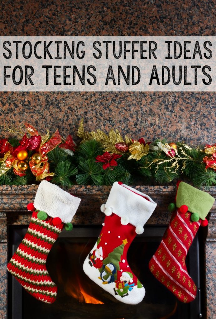 Awesome stocking stuffer ideas for teens and adults that won't break the bank.