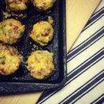 Awesomely Delicious Bacon Cheddar Stuffed Mushrooms Recipe