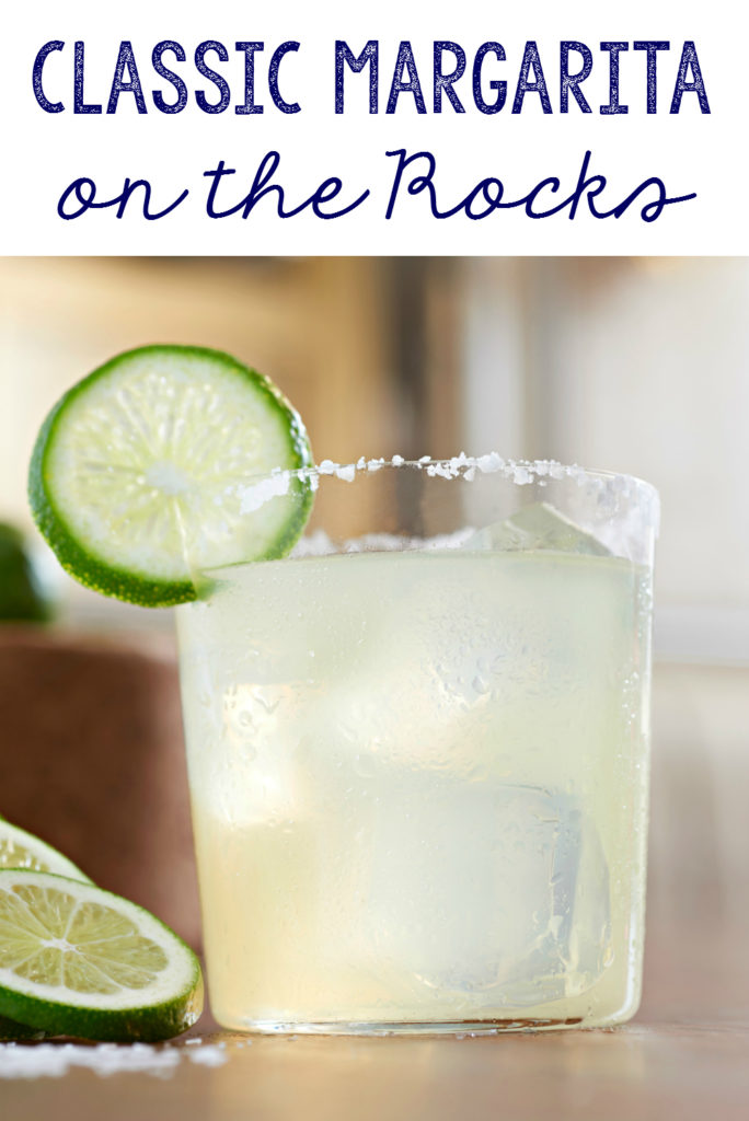 Make these classic margaritas on the rocks for your next get together.