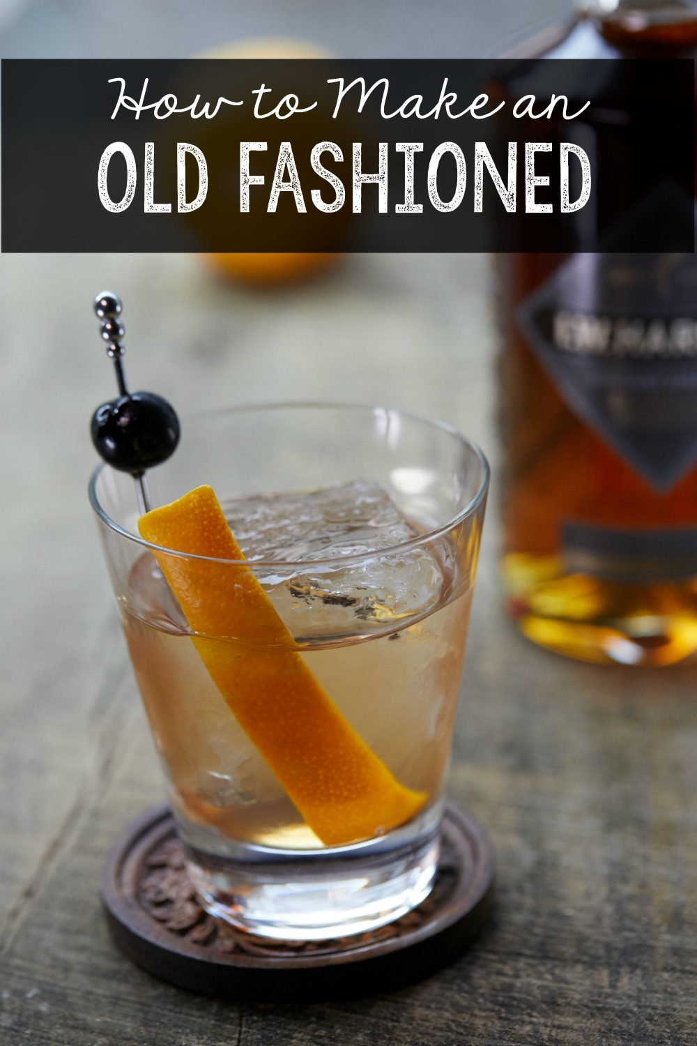 How To Make A Clic Old Fashioned Tail Recipe