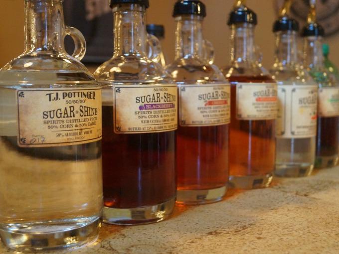 Sugar Shine Moonshine from Limestone Branch Distillery