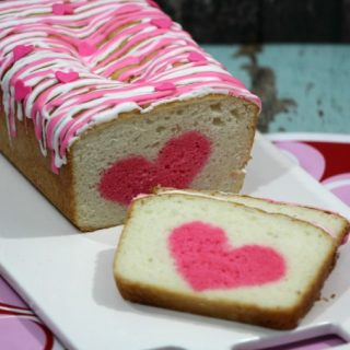 Secret Heart Strawberry Vanilla Poundcake recipe