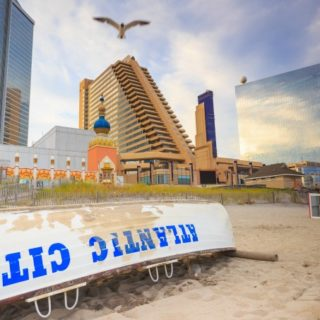 Atlantic City, NJ skyline