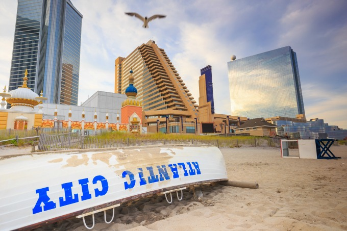 Atlantic City, NJ skyline