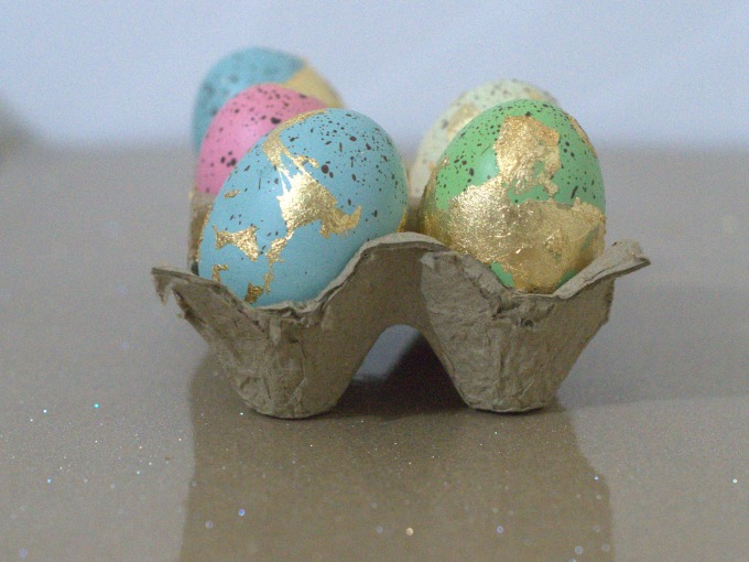 How to make gilded eggs for Easter and beyond