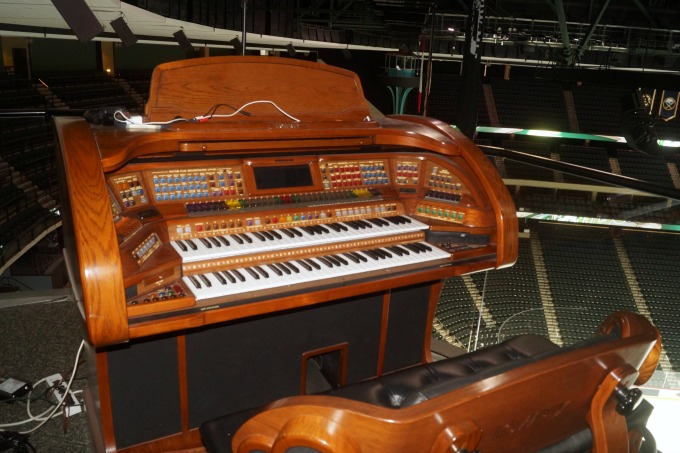 The Organ at the Xcel Energy Center in St Paul, MN