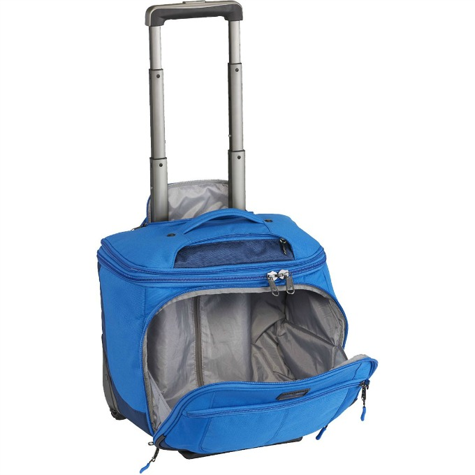 EC Adventure Pop Top Expandable Carry-On Luggage Bag