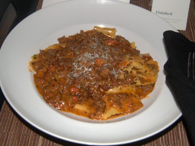Bolognese Pappardelle from Lela restaurant, Minneapolis, MN