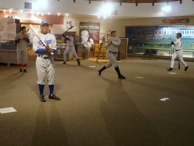 Baseball greats louisville slugger factory
