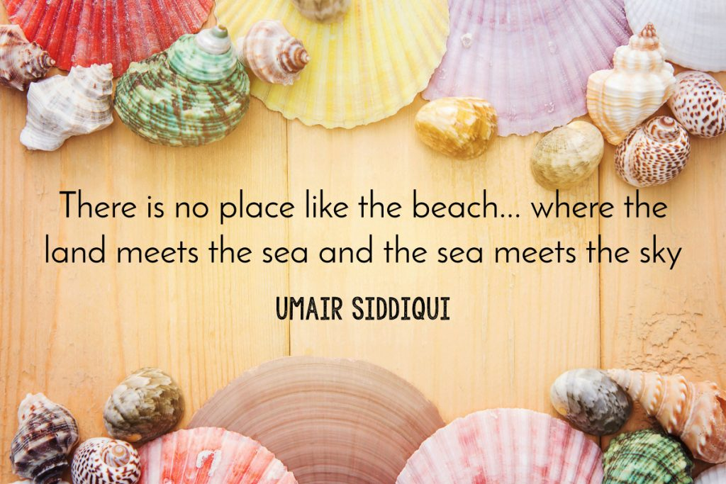 Omar Siddiqui beach quote