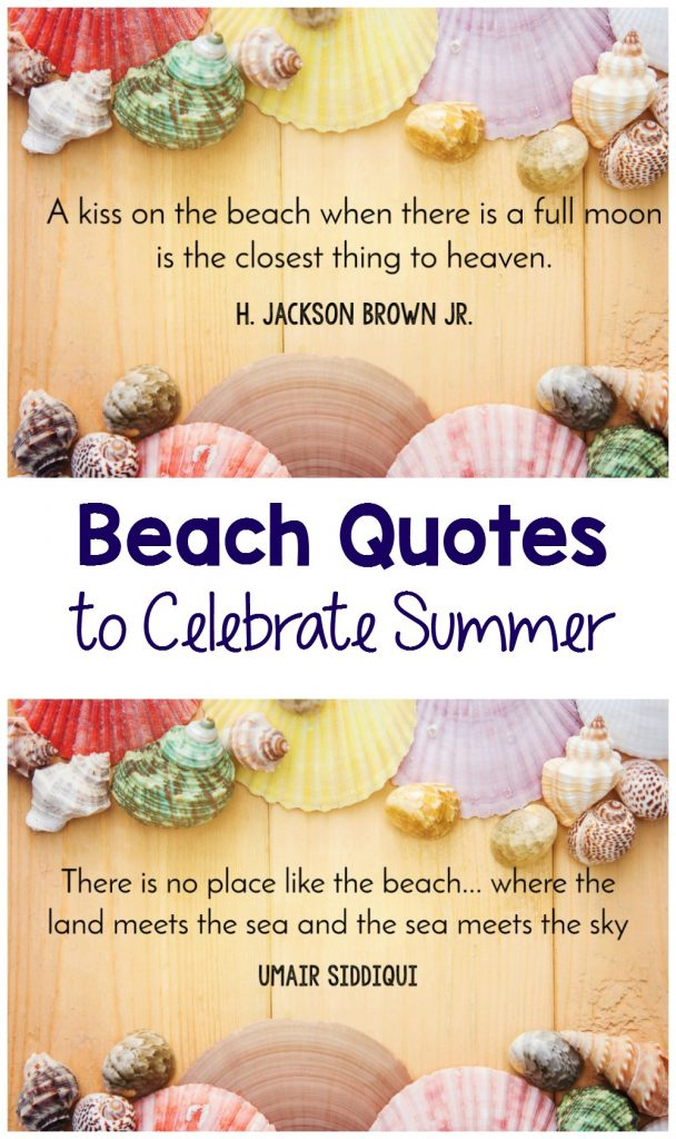 Great beach quotes to help you celebrate summer