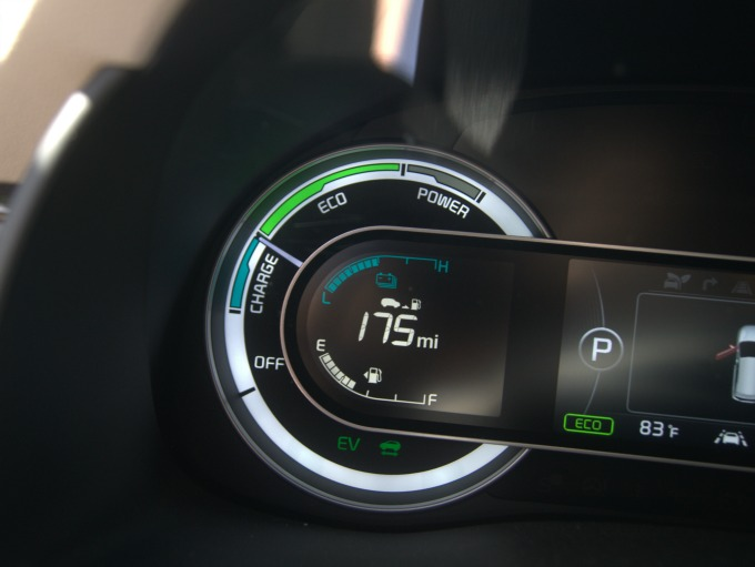 Kia Niro Gas Gauge