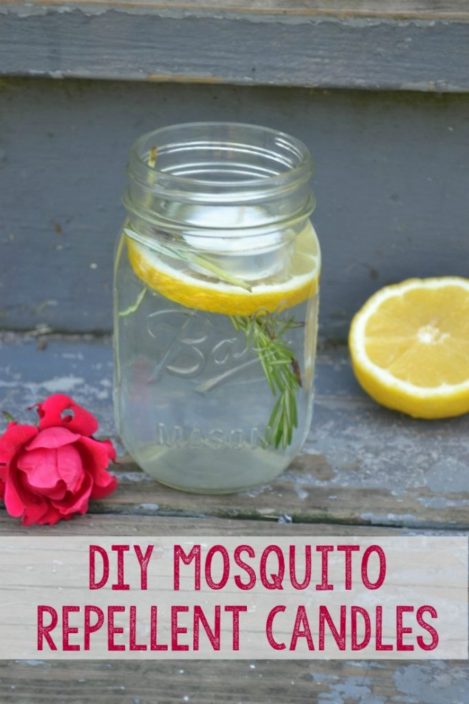 How to make a quick and easy DIY mosquito repelling candle