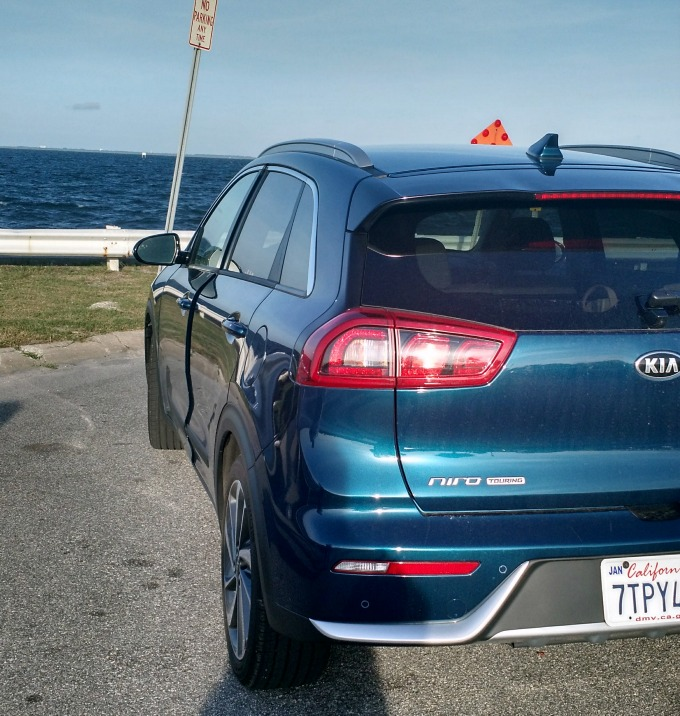 2017 Kia Niro at the Atlantic Coast in Florida