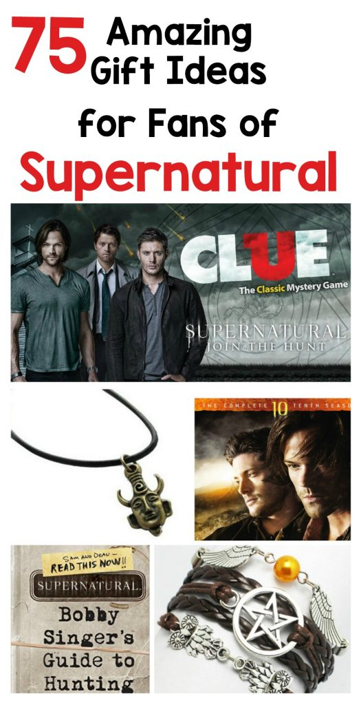 75 Amazing gift ideas for fans of Supernatural TV Show