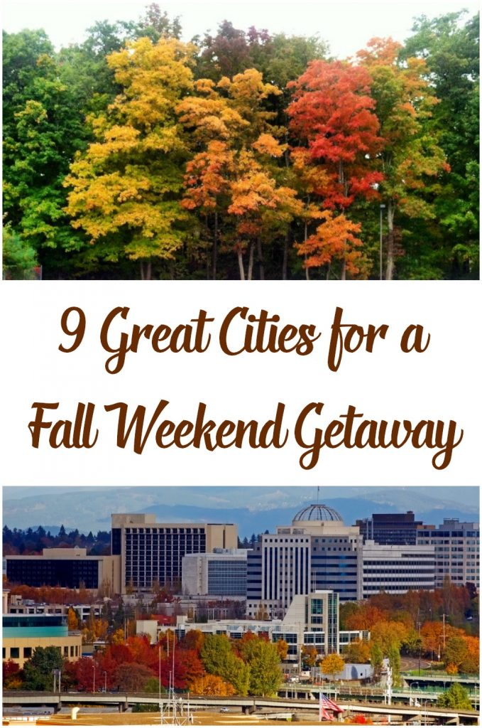 Great ideas to see fall color on a weekend getaway