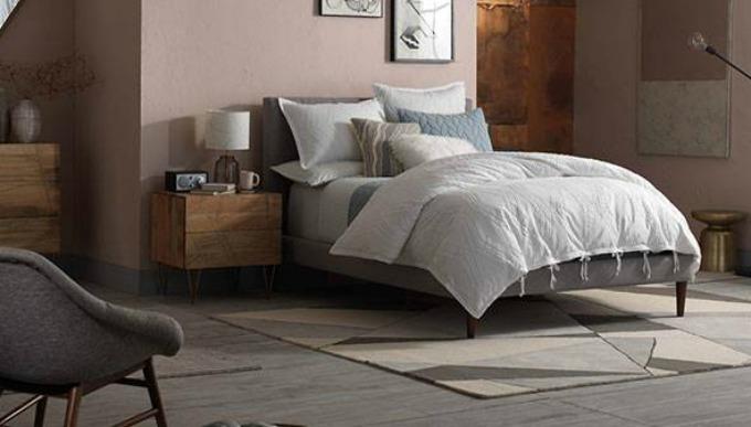 Mid Century Luxe West Elm Bedroom Inspiration